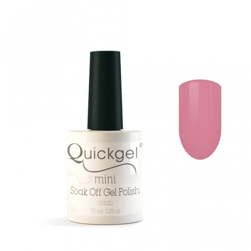 Quickgel No 133 - Cheek2Cheek Mini Βερνίκι νυχιών 7,5 ml