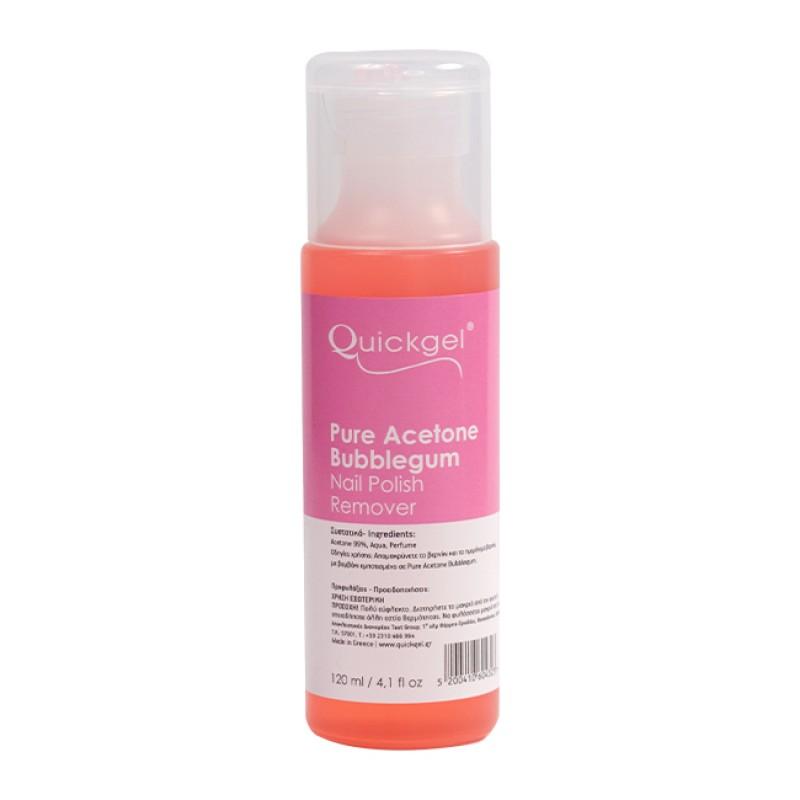Pure Acetone Bubblegum Quickgel 120ml