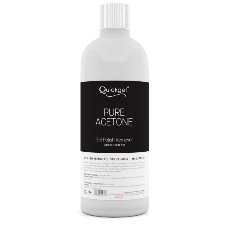 Pure Acetone Quickgel 1000ml
