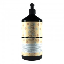Ενυδατική κρέμα χεριών και σώματος Caramel Butter 1L για κάθε τύπου δέρματος