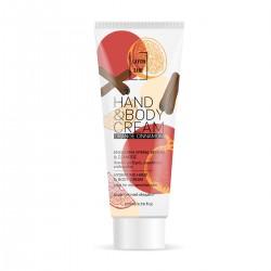 Ενυδατική κρέμα χεριών και σώματος  Orange and Cinnamon 200 ml για κάθε τύπου δέρματος