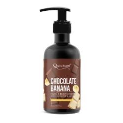 Ενυδατική κρέμα χεριών και σώματος Banana Chocolate 300 ml για κάθε τύπου δέρματος