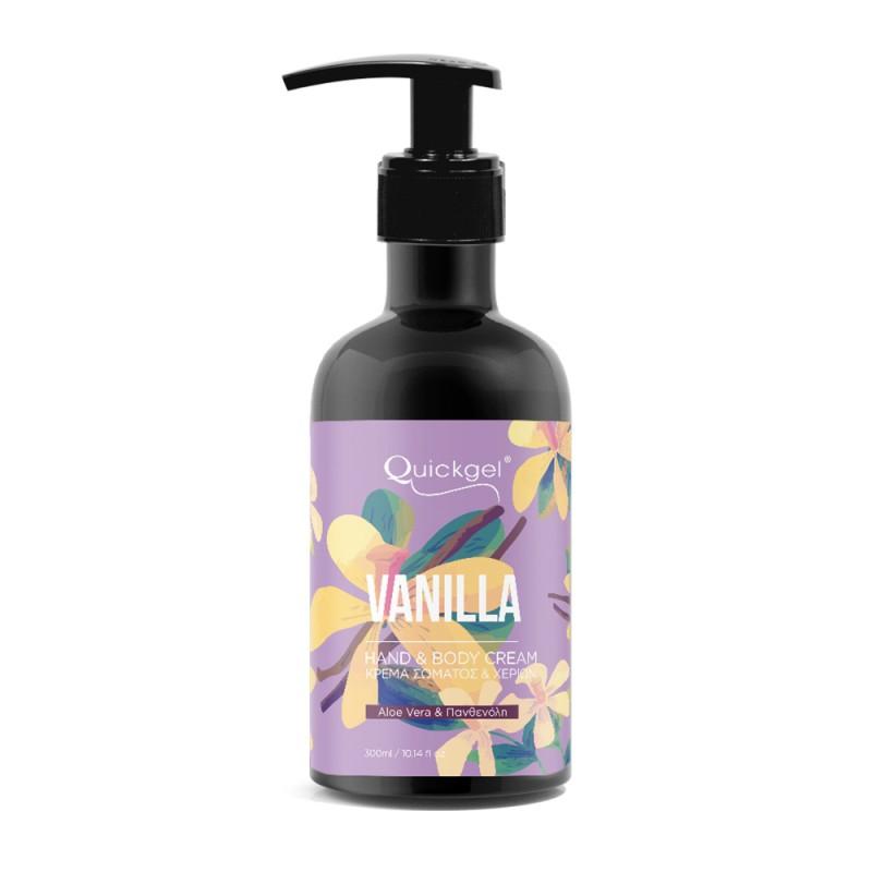 Ηand Cream - Vanilla - Quickgel