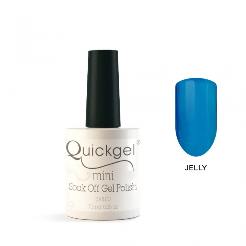 Quickgel No 807- Blueberry-Jelly-Mini Βερνίκι νυχιών 7,5 ml