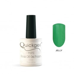 Quickgel No 808 - Mint Fresh Jelly Mini Βερνίκι νυχιών 7,5 ml