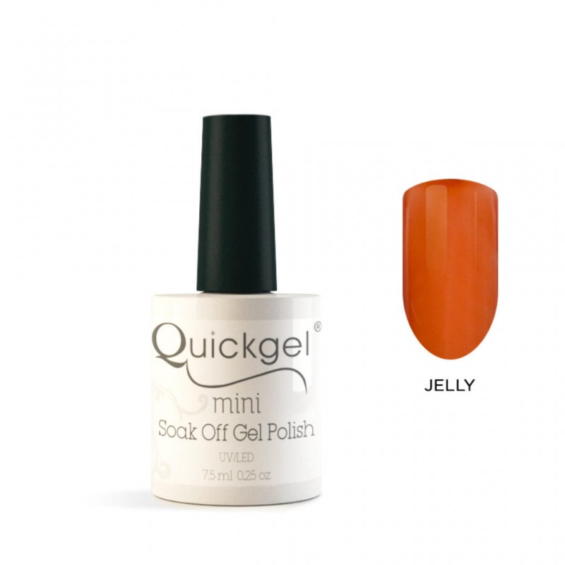 Quickgel No 810-Caramel-Jelly-Mini Βερνίκι νυχιών 7,5 ml