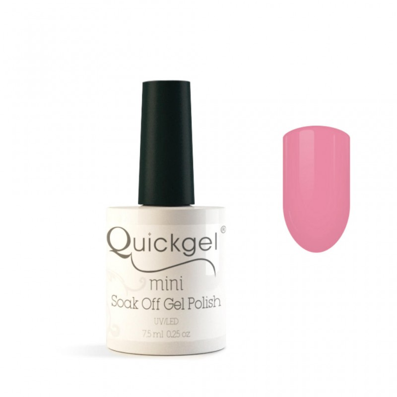 Quickgel No 130 - Sweet Pink Mini Βερνίκι νυχιών 7,5 ml