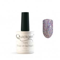 Quickgel No 211 - Magic Sparkle Mini - Βερνίκι 7,5 ml