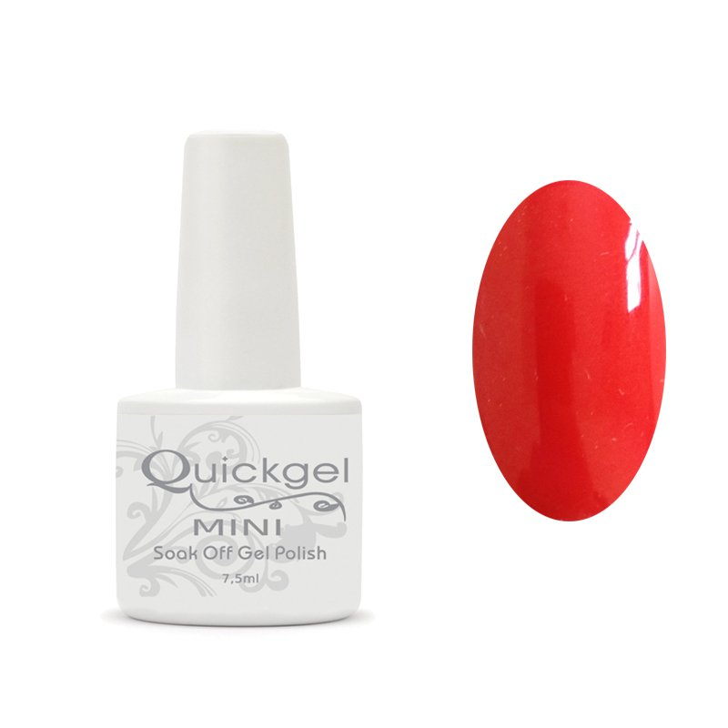 Quickgel No 218 - Passion Mini - Βερνίκι 7,5 ml