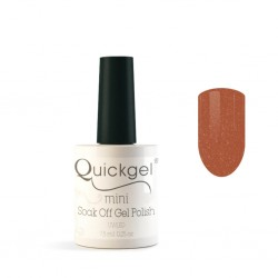 Quickgel No 35 - Peach Glow Mini - Βερνίκι 7,5 ml