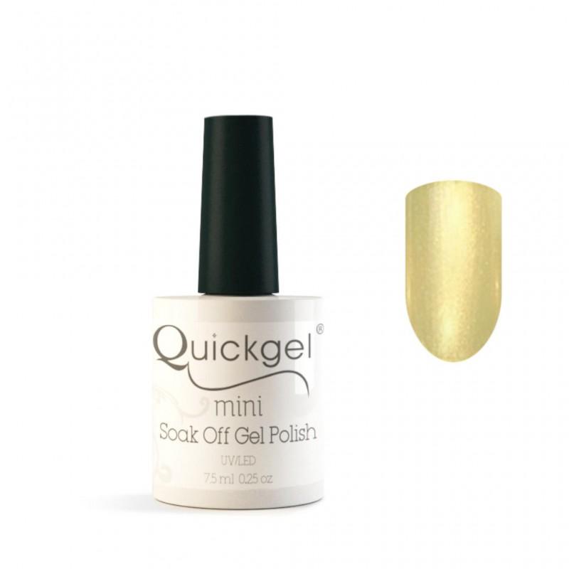 Quickgel No 369 - Gold Metal Mini - Βερνίκι 7,5 ml