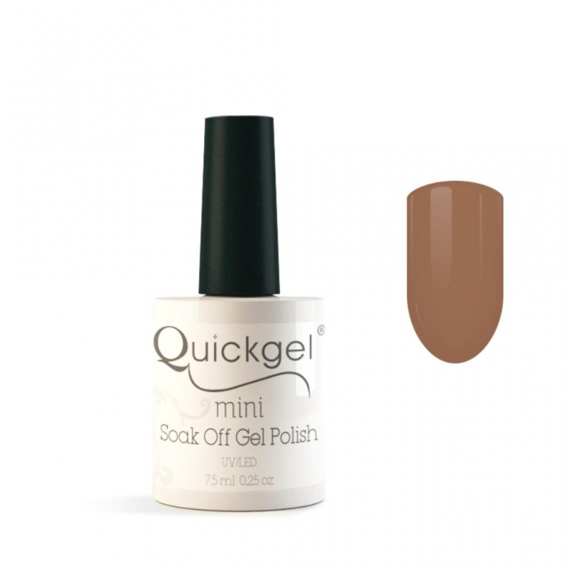 Quickgel No 39 - Indian Beige Mini - Βερνίκι 7,5 ml