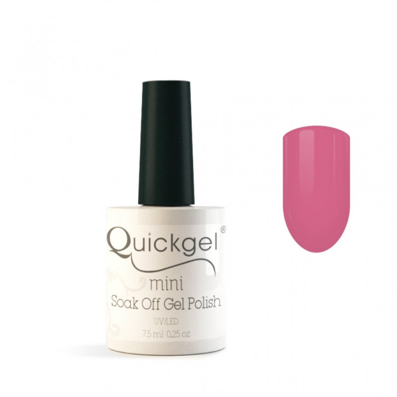 Quickgel No 5 - Pink Lady Mini - Βερνίκι 7,5 ml