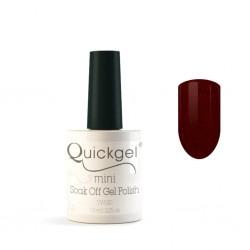 Quickgel No 576 - Bordeaux Mini - Βερνίκι 7,5 ml