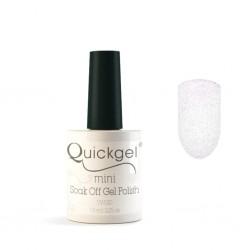Quickgel No 637 - SnowWhite Mini - Βερνίκι 7,5 ml