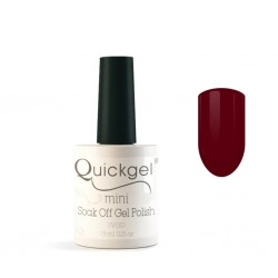 Quickgel No 660 - Vino Rosso Mini - Βερνίκι 7,5 ml