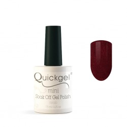 Quickgel No 661 - Burgundy Mini - Βερνίκι 7,5 ml