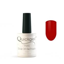 Quickgel No 76 - Red Velvet Mini - Βερνίκι 7,5 ml