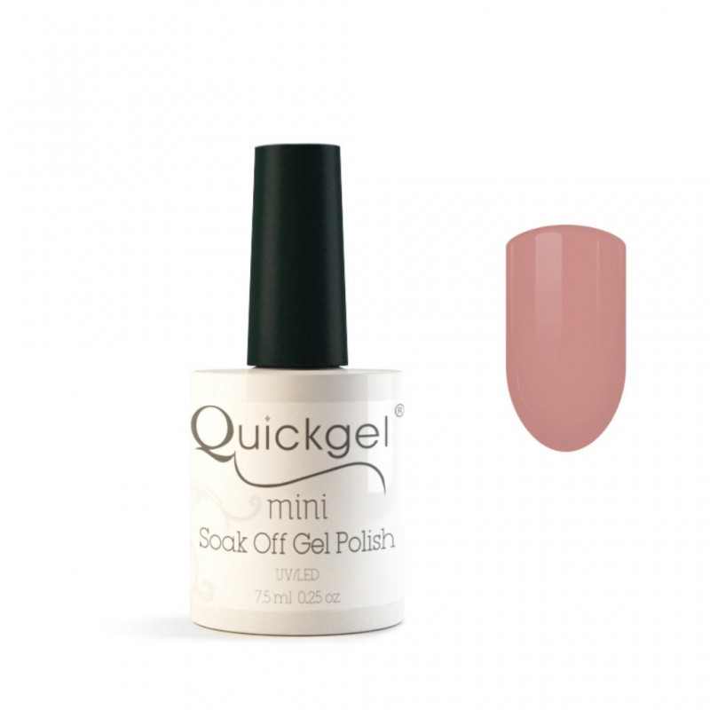 Quickgel No 8 - Pink Mini - Βερνίκι 7,5 ml