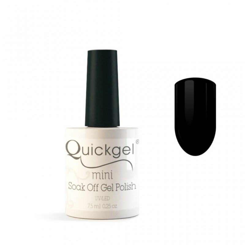 Quickgel No 83 - Black Mini - Βερνίκι 7,5 ml