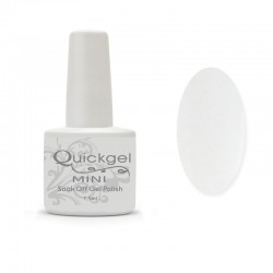 Quickgel White Mini - Βερνίκι 7,5 ml