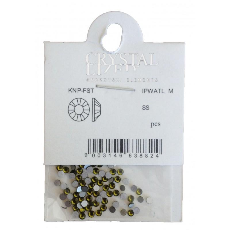 Nail Jewellery Swarovski Medium size Yellow