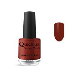 Quickgel No 822 - Acajou Βερνίκι 15 ml - Weekly polish