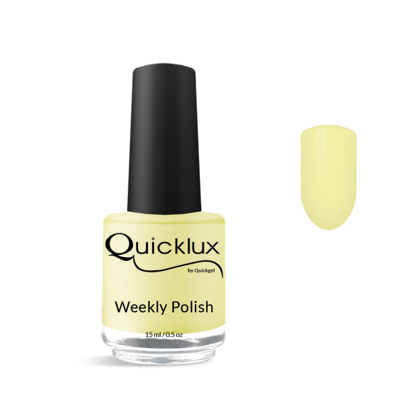 Quickgel No 530 - Banana Βερνίκι 15 ml - Weekly polish