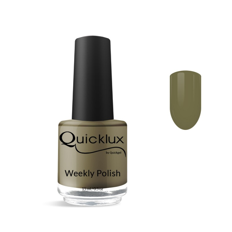 Quickgel No 840 - Hazel Βερνίκι 15 ml - Weekly polish