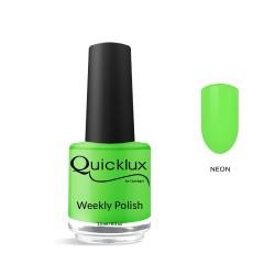 Quickgel No 806 - Neon Lime Βερνίκι 15 ml - Weekly polish