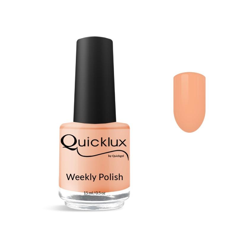 Quickgel No 805 - Papaya Βερνίκι 15 ml - Weekly polish