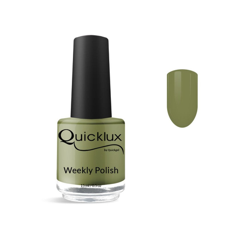 Quickgel No 830 - Seaweed Βερνίκι 15 ml - Weekly polish