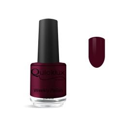 Quickgel No 660 - Vino Rosso Βερνίκι 15 ml - Weekly polish