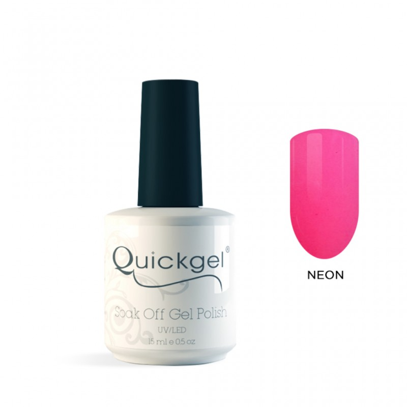 Quickgel No 134 - Lollipop- Ημιμόνιμο Βερνίκι 15 ml