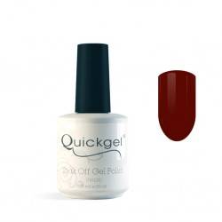 Quickgel No 186 - Deep Red- Βερνίκι 15 ml