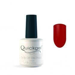 Quickgel No 201 - Red Roulette- Βερνίκι 15 ml