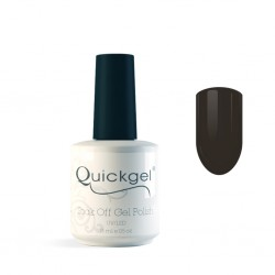 Quickgel No 222 - Hot Choco- Βερνίκι 15 ml