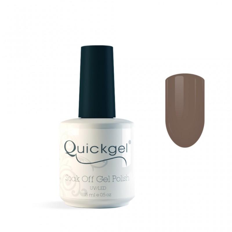 Quickgel No 318 - Brown Sugar- Βερνίκι 15 ml