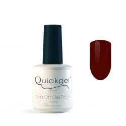 Quickgel No 321 - Pomegranate - Ημιμόνιμο Βερνίκι - 15 ml