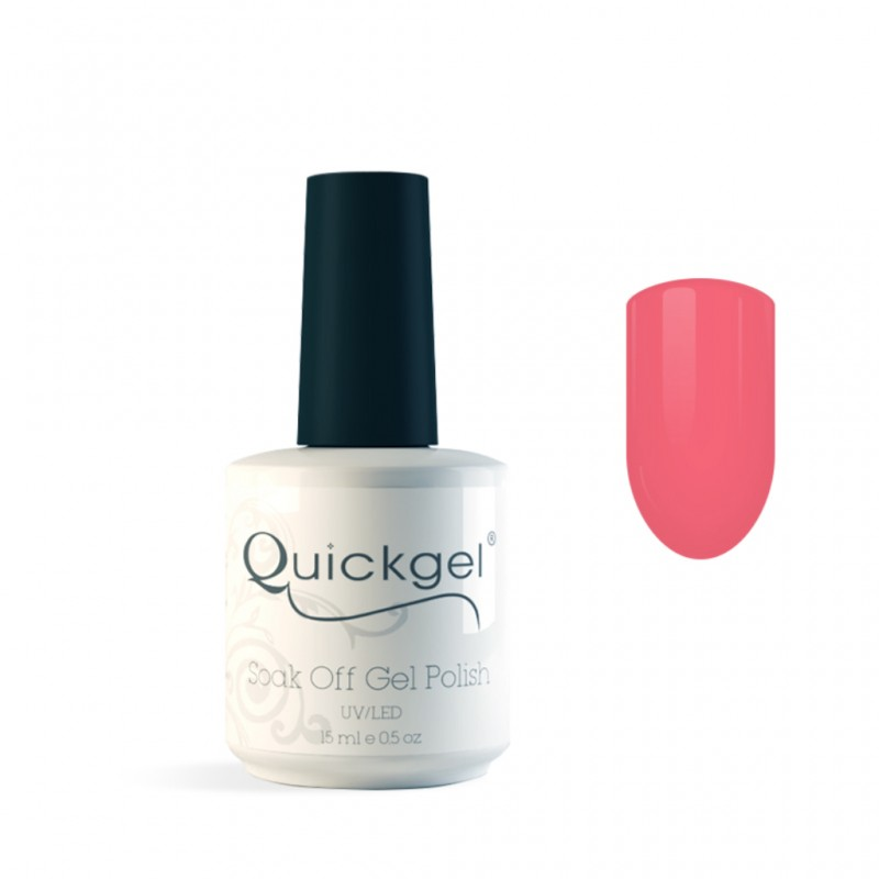 Quickgel No 4 - Fancy Pink - Βερνίκι - 15 ml
