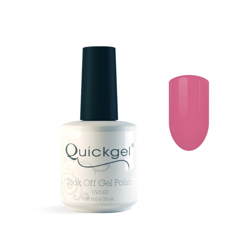 Quickgel No 5 - Pink Lady- Βερνίκι 15 ml