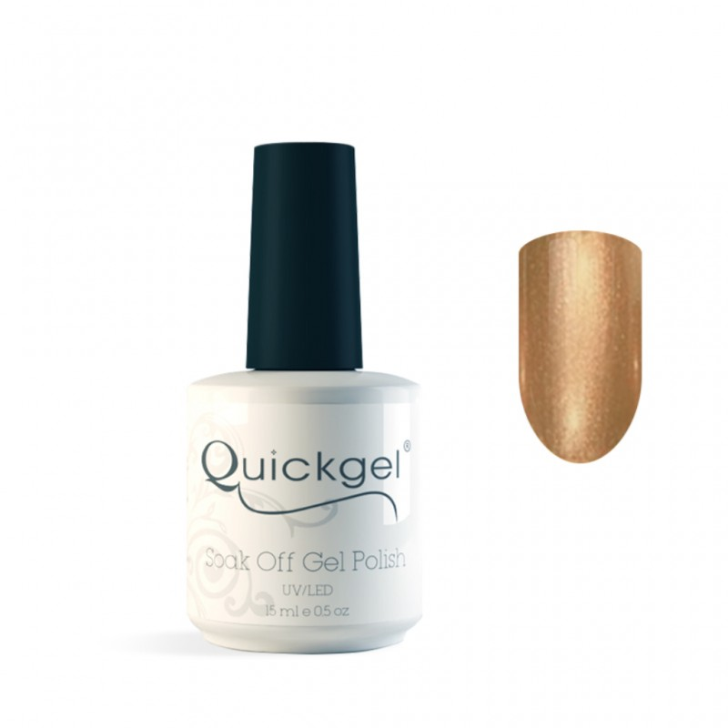 Quickgel No 569 - Bronze Metal- Βερνίκι 15 ml