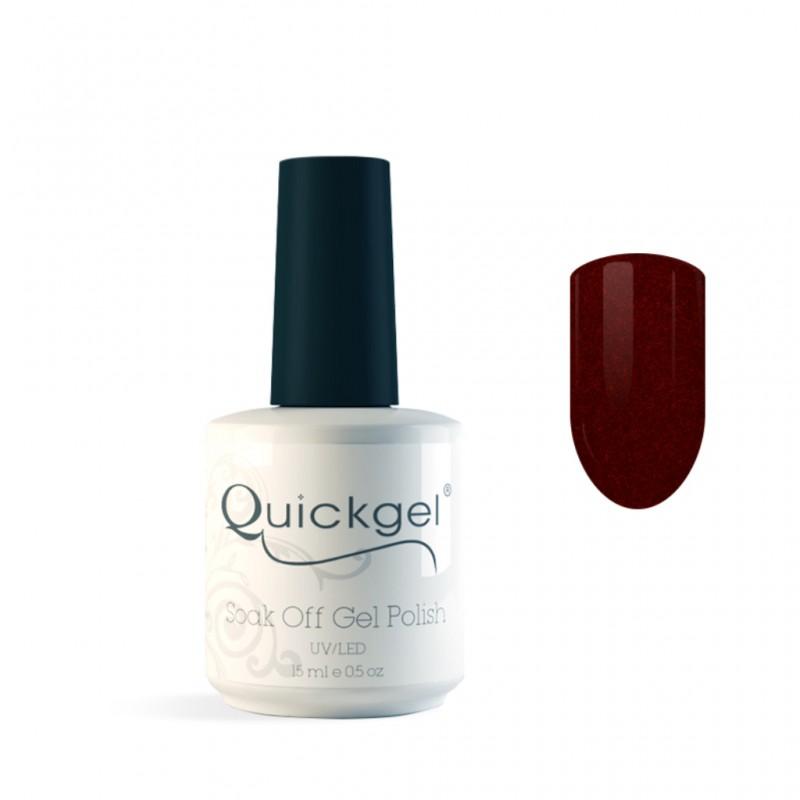 Quickgel No 576 - Bordeaux - Βερνίκι - 15 ml