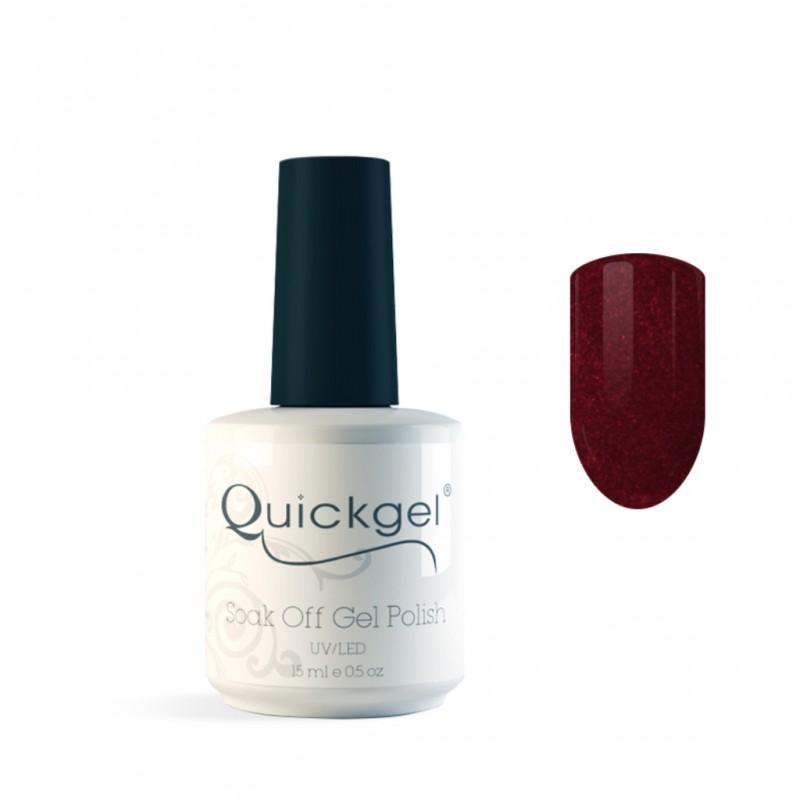Quickgel No 661 - Burgundy - Βερνίκι - 15 ml