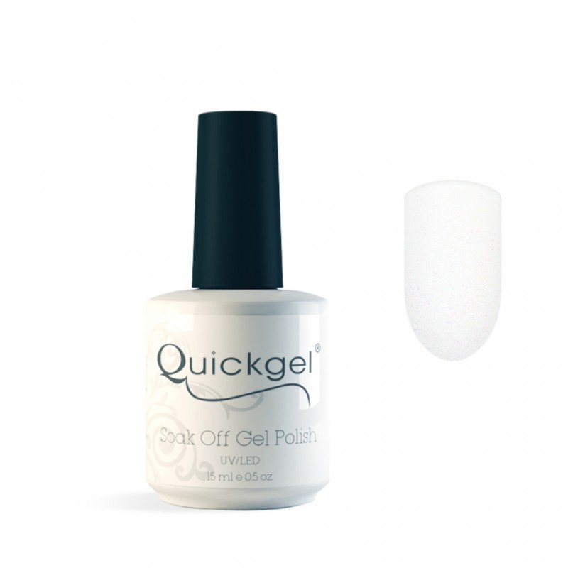 Quickgel No 758 - Snow Queen Glitter Βερνίκι 15 ml