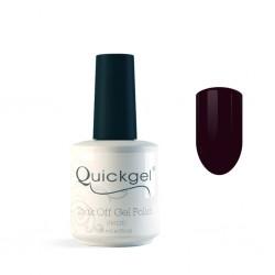 Quickgel No 81 - Plum- Βερνίκι 15 ml