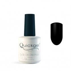 Quickgel No 83 - Black- Βερνίκι 15 ml