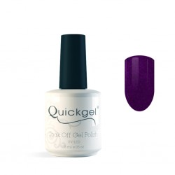 Quickgel No 96G - Metallic Purple - Βερνίκι - 15 ml