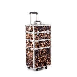 Beauty - Large Nail Art Case (Leopard)
