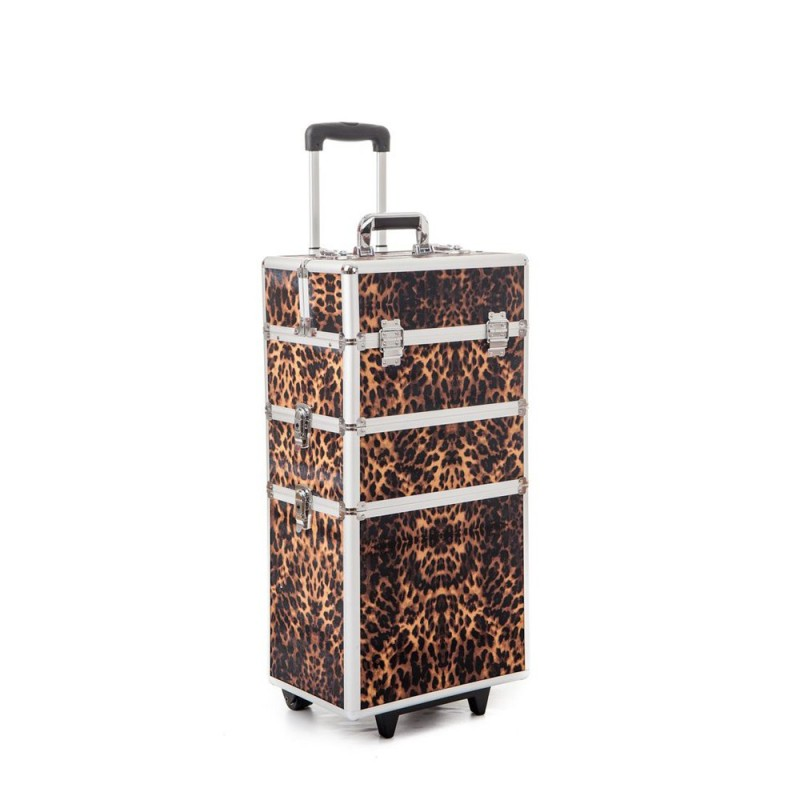 Beauty - Large Nail Art Case (Leopard)